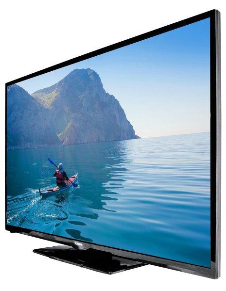 Amazon-Blitzangebot: Telefunken D50F275I3C 127 cm (50 Zoll) LED-Backlight Fernseher (Full HD, 600Hz CMP, DVB-C/T/S2, CI+, 2x HDMI, 2x USB, Smart TV, HbbTV, DLNA) schwarz [Energieklasse A] @ 399,99 Euro inkl.Versand