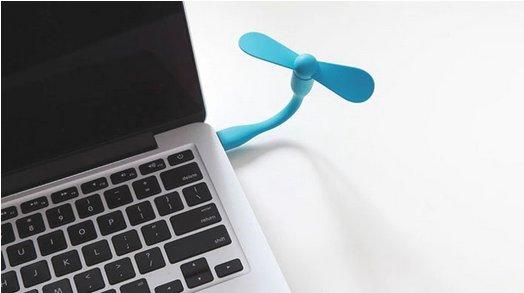 Neuer Bestpreis! Xiaomi Ventilator USB für Powerbanks