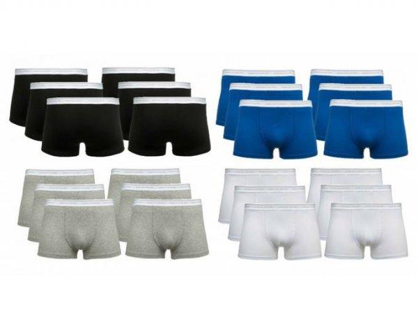 Pierre Cardin Boxershorts 6er-Pack (M, L, XL, XXL, 3XL // Schwarz, Blau, Grau, Weiß) Versandkostenfrei für 17,49€ @Allyouneed.com [MeinPaket]