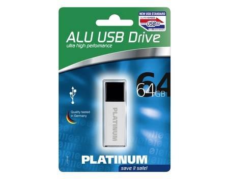 [Allyouneed] Platinum Alu USB-Stick 3.0 - 64GB für ~16€ und 128GB für 35€