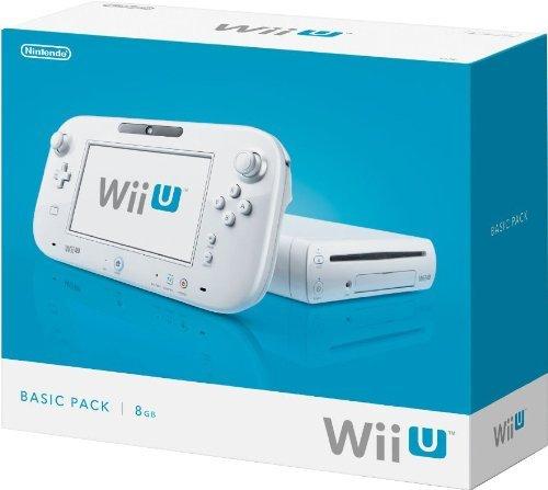 Nintendo Wii U - Basic Pack - weiß  für 158,50 € @Amazon.fr