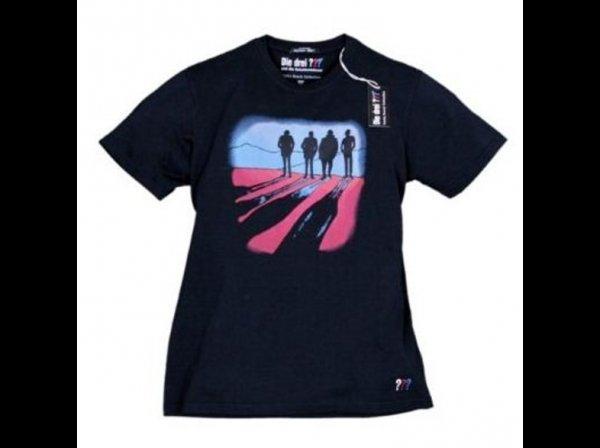 """Die drei Fragezeichen (???) - T-Shirt """"Die Schattenmänner"""" versch. Größen @Saturn ab 12,49€ inkl. VK"""