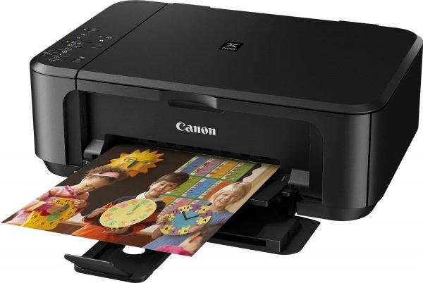 Canon PIXMA MG3550 Multifunktionsgerät (Drucker, Kopierer, Scanner, USB, WLAN) schwarz für 44,61 € @Amazon.it