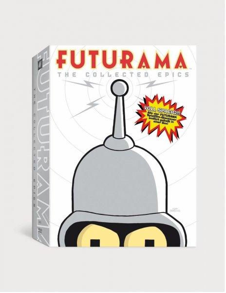 (Amazon.de-Prime) Futurama - Movie Collection 4 DVDs für 9,49€