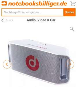 Beats By Dre BeatBox portable weiß