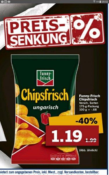 (Dauerhaft)Lidl, Funny Chipsfrisch