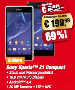 (Lokal - Essen) Sony Xperia Z1 Compact als B-Ware im Medion Outlet