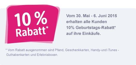 [Lokal Gießen] 10 Jahre DM - 10% Rabatt auf alles (30.05.-06.06.)
