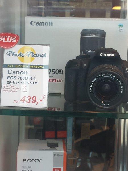 Photo Planet Stuttgart Canon 700D mit Cashback