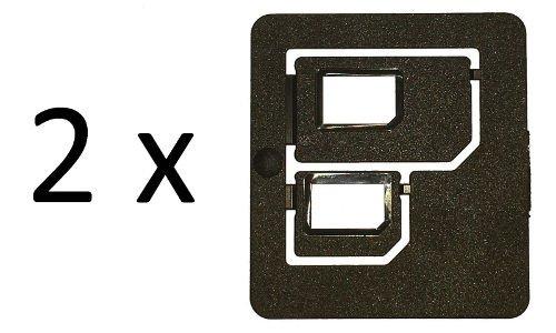 Multi SIM-Karten Adapter Doppelpack  @ebay