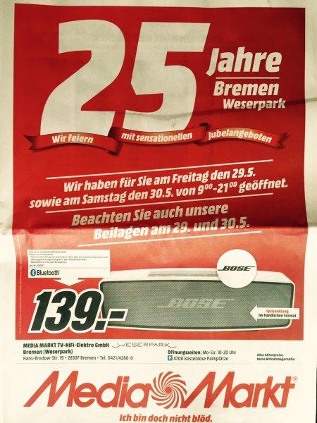(MM Bremen) BOSE Soundlink Mini, Bluetooth Speaker (30% Ersparnis)