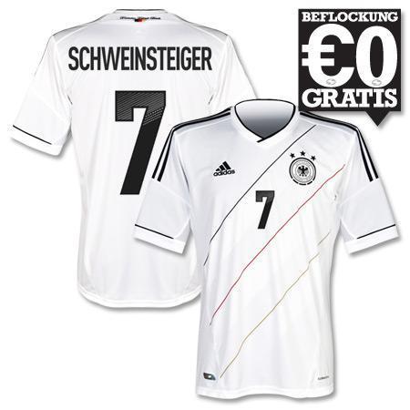 DFB Home Trikot zur EM 2012 mit gratis offizieller Spielerbeflockung ab 63,67 € (mit qipu)