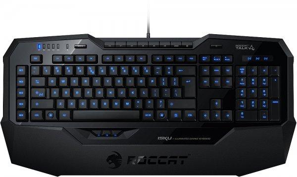 """[ZackZack] Roccat """"ISKU"""", beleuchtete Gaming-Tastatur für 59,00 € statt 73,00 €, versandkostenfrei"""