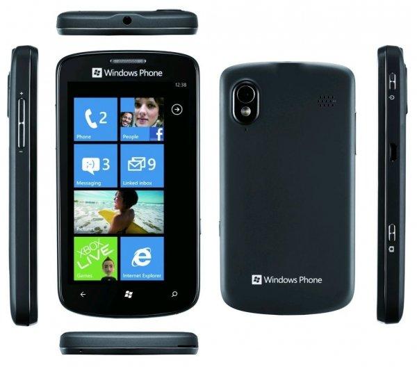 ZTE Tania - 4GB Schwarz (Ohne Simlock) Windows Smartphone @ebay 39,90€