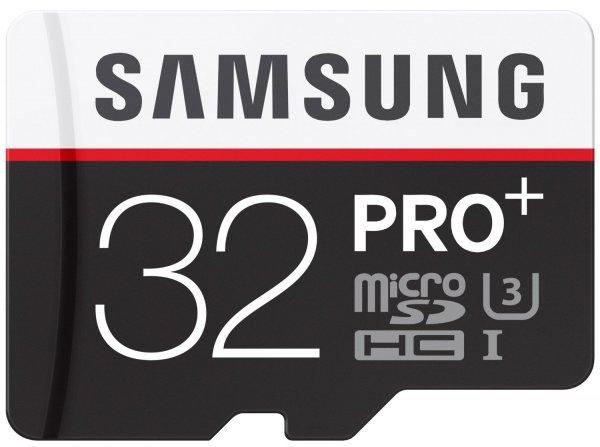 Samsung MicroSDHC PRO+ Class10 32GB R95/W90 (MB-MD32DA/EU) für 51,16€ @amazon.de