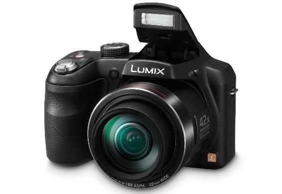 [Dealclub] Panasonic Lumix DMC-LZ40 - Digitalkamera - Kompaktkamera - 20,0 Mpix - 42 x optischer Zoom - Schwarz (DMC-LZ40EP-K) für 139,95€ Versandkostenfrei...Bestpreis!