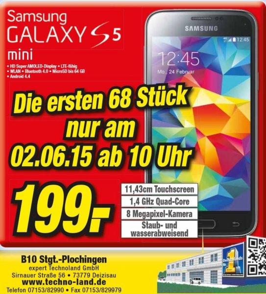 [lokal&offline] Samsung S5 mini für 199€ @Technoland Deizisau