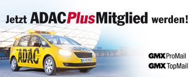 ADAC-Plusmitgliedschaft für effektiv 19,50 € über GMX Pro- bzw. TOP-Mail