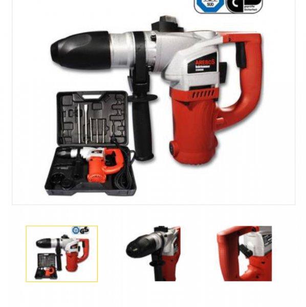 Bohrhammer/Schlagbohrmaschine Arebos CCBH900 für 19,26€