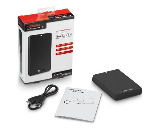 Externes USB 3.0 2,5 S-ATA Gehäuse Toshiba 1 Stk. 8,23€ inkl. Versand max. 3 Stück pro Kunde