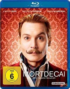 Amazon Mortdecai - Der Teilzeitgauner Blu-ray 11,99€