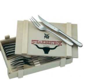 12 Teiliges Steakbesteck Set WMF@Voelkner