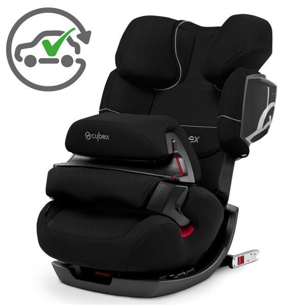 Cybex Pallas 2-Fix schwarz mit Qipu 168€ + kostenloser Umtausch bei Unfall Baby-Markt.de