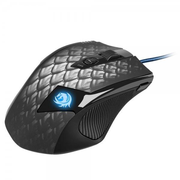 [@Amazon WHD/Prime] Sharkoon Drakonia Black Gaming Laser Maus 8200 dpi (11 Tasten) schwarz