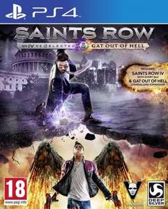 Saints Row IV: Re-elected + Gat Out of Hell (PS4) für 19,95 € bei Coolshop.de