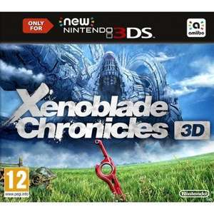 Xenoblade Chronicles 3D (N3DS), The Legend Of Zelda - Majora's Mask 3d, Monster Hunter 4 Ultimate (3DS), Kirby and the rainbow paintbrush (Wii U) jeweils für 30,55€ @thegamecollection