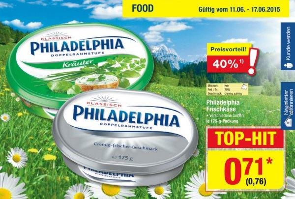 [METRO] Philadelphia Frischkäse 175g - 0,76€ brutto
