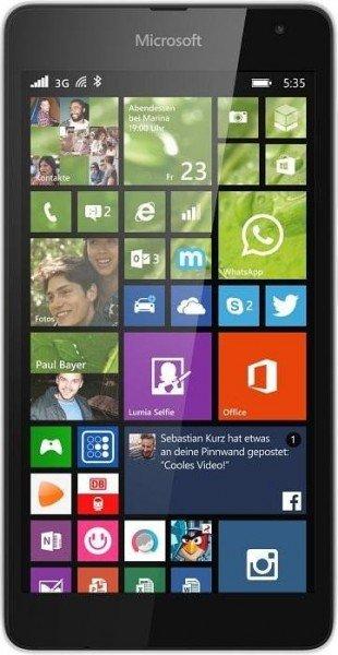 MICROSOFT Lumia 535 ( Orange, cyan, Grün, Schwarz, Weiß ) für 89,00€ - 5,00 NL-GS = 84,00€ inkl. Versand @Saturn.de