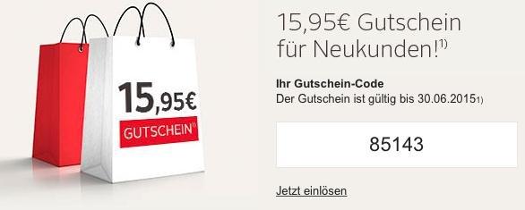 OTTO Newsletter Anmeldung: 15,95 € Gutschein für Neukunden bei einem Mindestkaufwert von 20 €