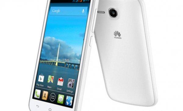 Huawei Y600 Dual-SIM Smartphone (5 Zoll, 1.3 GHz Dual Core 4 GB 5 Mio. Pixel) Schwarz oder Weiß für 94,95@Real-Onlineshop.de