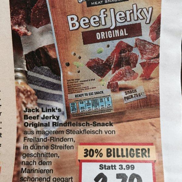 [Kaufland Ahrensfelde Eiche und Berlin Biesdorf] Jack Links Beef Jerky