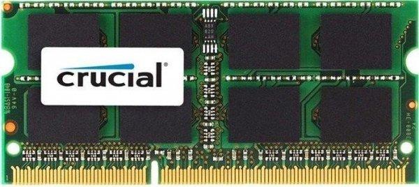 Crucial SO-DIMM 4GB Notebookspeicher - DDR3L-1600, CL11, 1,35V bis 1,5V, 10 Jahre Garantie - 23,89€ (Prime) / ab 24,29€ @ Amazon