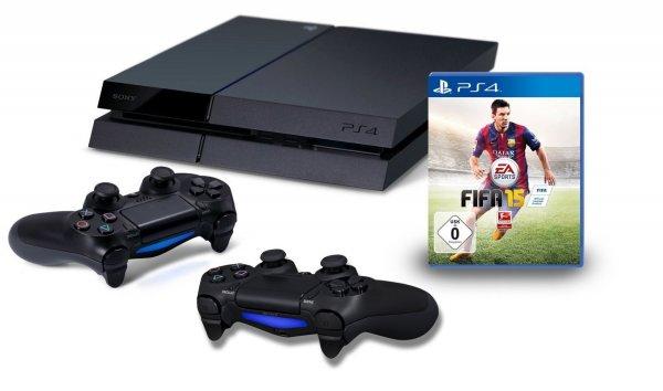 (Amazon.de) PlayStation 4 mit 2. Controller und FIFA 15