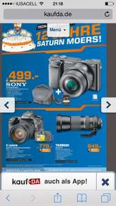 Saturn Geburtstagsangebote - z.B. AVM 7490 169€, Sony A6000 499€, Canon 7D 18-135 779€, Breaking Bad Blu-ray Box 59€, Sony 50W815 699€, uvm