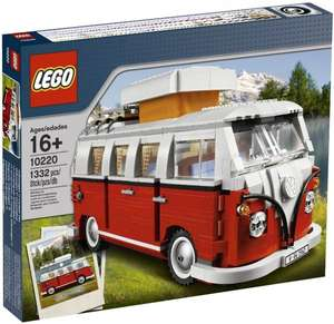 LEGO 10220 VW Volkswagen T1 Campingbus für 79,99€ @Intertoys