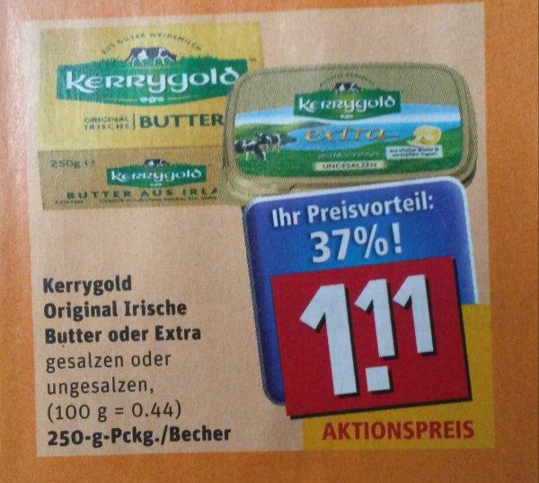 [REWE] Kerrygold Butter 1.6. - 6.6. für 1,11€