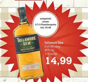 Tullamore Dew™ - Irish Whiskey 1,0 Liter für €14,99 [@Citti]