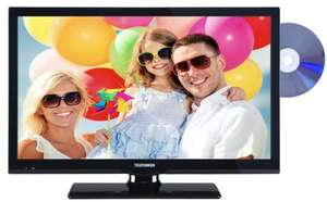 Amazon Blitzangebot: Telefunken L22F275I3D 56 cm (22 Zoll) LED-Backlight-Fernseher, EEK A (Full HD, 100Hz CMP, DVB-C/T/S2, integrierter DVD-Player, HDMI, CI+, VGA, USB 2.0, Hotelmodus) schwarz [Energieklasse A] @ 189,99 Euro
