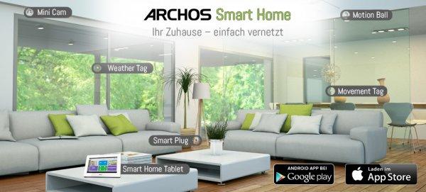 Archos Smart Home Starter Pack für 143,59€ inkl. Versand @amazon.de
