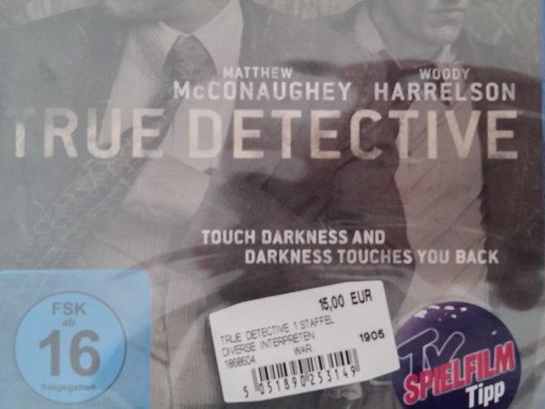 [Lokal Berlin-Wilmersdorf] True Detective Blu-Ray für 15 € im Media Markt
