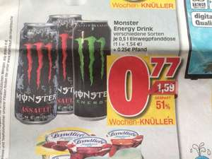Monster Energy Drink 0.77ct zzgl. Pfand