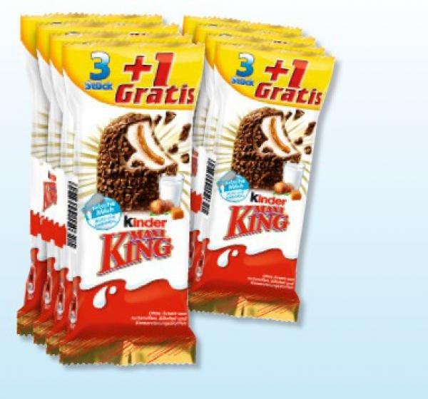 [Rewe ab 1.6.] 4 Maxi King oder 3 Maxi King Schoko für 99 Cent (lokal?)