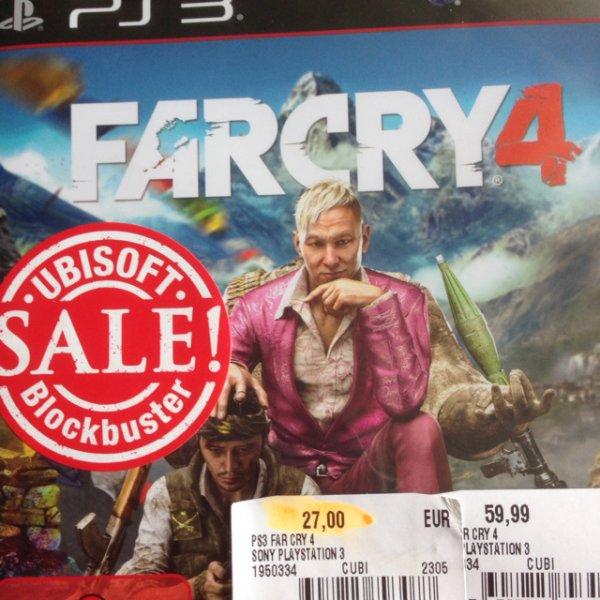 Far Cry 4 PS3 Media Markt München Pasing Arcarden