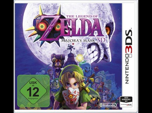 The Legend Of Zelda -Majoras Mask 3D (3DS) oder Mario Party 10 (Wii U) für jeweils 26,98€ @saturn.de mit NL 5€ Gutschein und Füllartikel
