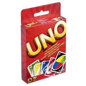 Kartenspiel UNO für nur 0,77 € + 3,00 € Versand, @ Amazon