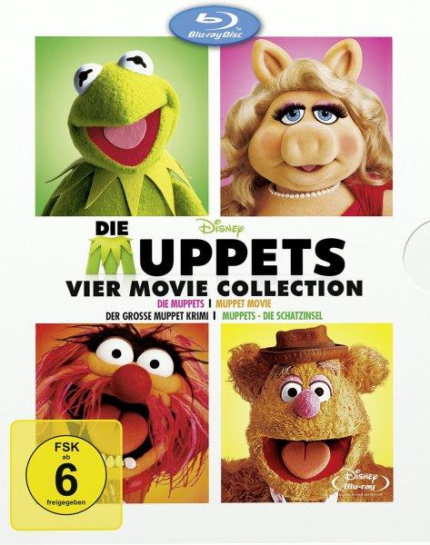 Die Muppets - Vier Movie Collection (3 Discs) (Blu-ray Disc) bei Müller